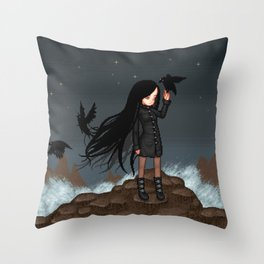 Brandung Throw Pillow