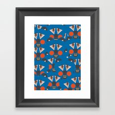 Tribal Terror Framed Art Print