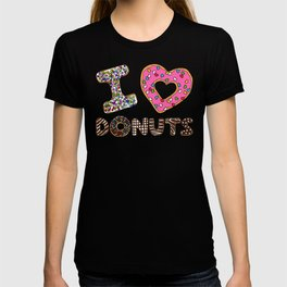 I LOVE DONUTS T-shirt