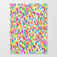 olivia joy Canvas Prints featuring Color Joy by Jacqueline Maldonado