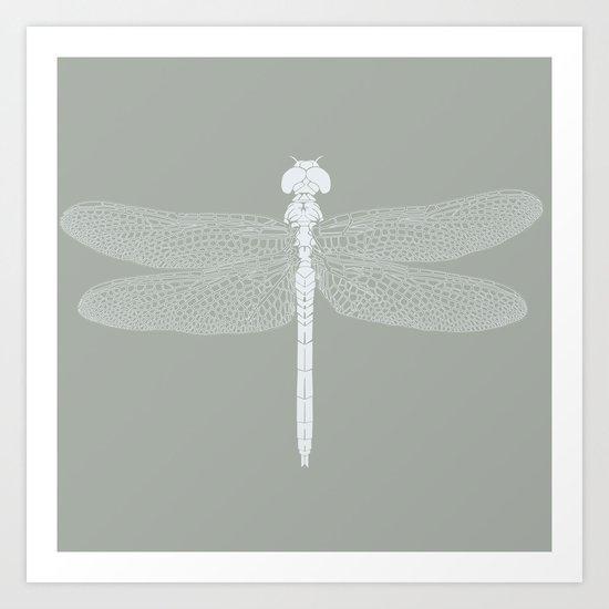dragonfly v4 Art Print