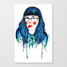 dripping in gold Canvas Print
