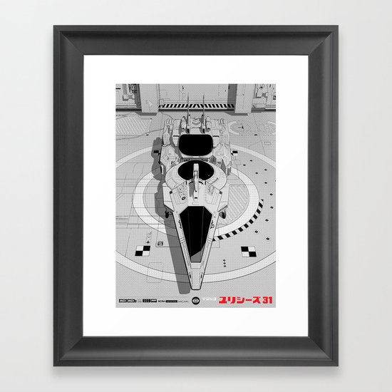Ulysses 31 (alternate version) Framed Art Print