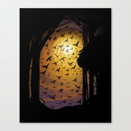 Flock Together Canvas Print