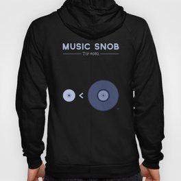 "NOT ""The New Vinyl"" — Music Snob Tip #082 Hoody"