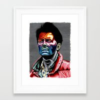 mcfly Framed Art Prints featuring Marty Mcfly by Cartyisme