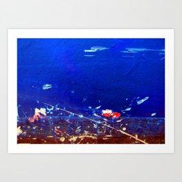 Explosion 3 Art Print