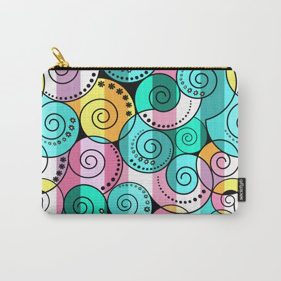 Abstraction. Bright colorful pattern. Carry-All Pouch