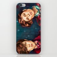 tegan and sara iPhone & iPod Skins featuring Tegan & Sara by Miriam R. Kent