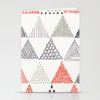 triangle Stationery Cards featuring Triangle by samedia