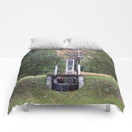 Country Water Wheel Comforters