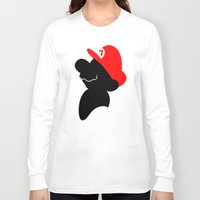 super mario Long Sleeve T-shirts featuring Super Mario by Bonitismo