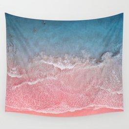 Bahamas pink blue Wall Tapestry