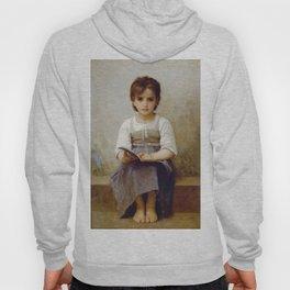 """William-Adolphe Bouguereau """"La Leçon Difficile (The difficult lesson)""""(1884) Hoody"""