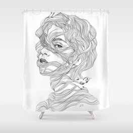 Rapunzel Shower Curtain