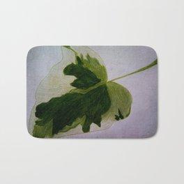 leaf drawing Bath Mat