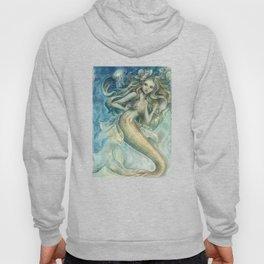 mermaid with Flowers in her hair Hoody
