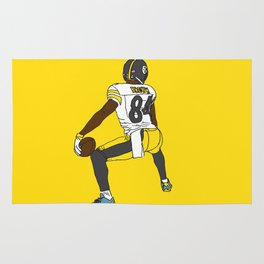 Antonio Brown Twerk Rug