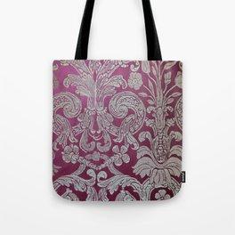 Vintage Venice - Flower Pattern Tote Bag