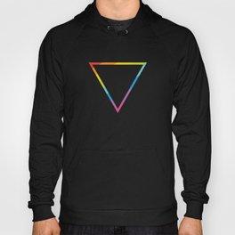 Pride: Rainbow Geometric Triangle Hoody