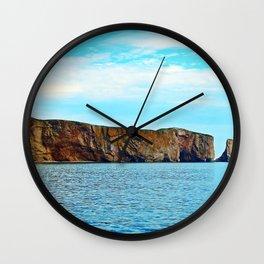 Le Rocher Perce Wall Clock