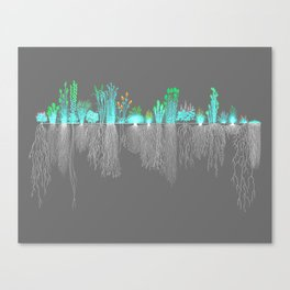 rooted (tinhouse VII) Canvas Print
