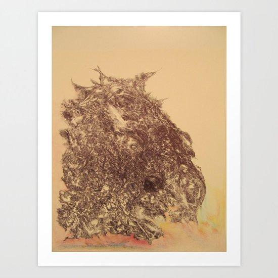 Grateful Soul, a tribute to Jerry Garcia Art Print