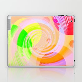 Re-Created Twisters No. 9 by Robert S. Lee Laptop & iPad Skin