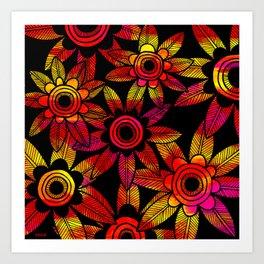 Big Floral 1 Art Print