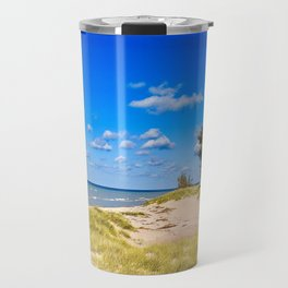 """Little Sable Point Lighthouse"" Travel Mug"