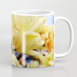 Yellow Magnolia Flowers Coffee Mug