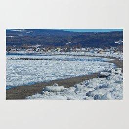Frozen Beach Rug