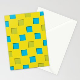 checkered pattern #18 Stationery Cards