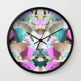 Walking on Eggshells Wall Clock