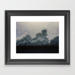 Sky and Ocean V Framed Art Print