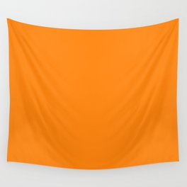 Turmeric Pantone fashion pure color trend Spring/Summer 2019 Wall Tapestry