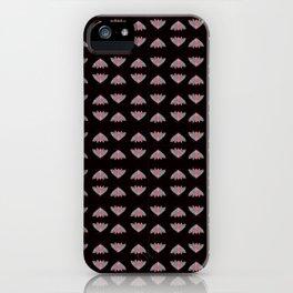 Moth pattern  iPhone Case
