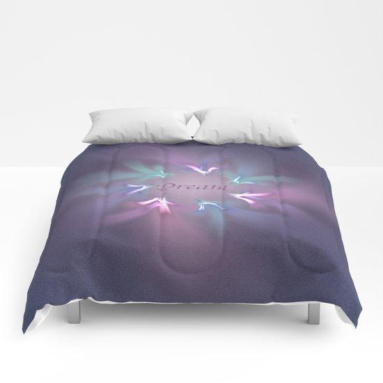 Circle Ribbon Dream Comforters
