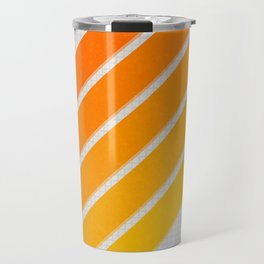 Orange Color Drift Travel Mug