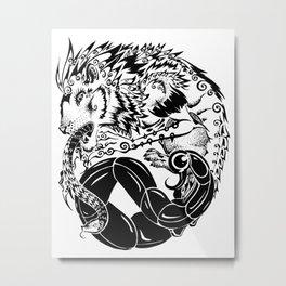 Manticore Metal Print