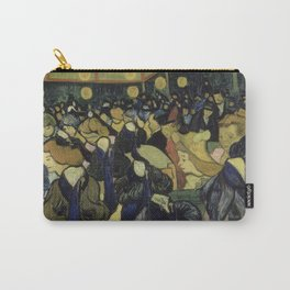 The Dance Hall in Arles by Vincent Van Gogh Carry-All Pouch