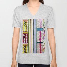 Color Maze Unisex V-Neck