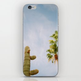 Cactus Palm Tree Palm Springs iPhone Skin