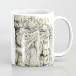 Haida Totems Coffee Mug