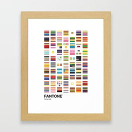 Nintendo - Minimalism Collection Framed Art Print
