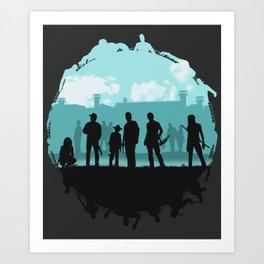 The Walking Dead: Prey Art Print