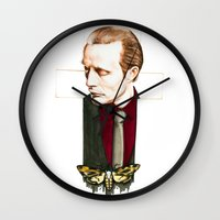 hannibal Wall Clocks featuring Hannibal by Caeruls