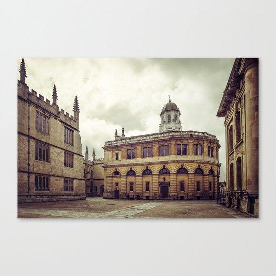 Oxford: Sheldonian Theater Canvas Print