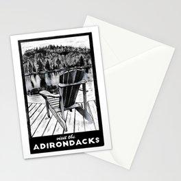 'The Chair' Original Adirondack Art, Adirondacks Wall Art Decor Stationery Cards