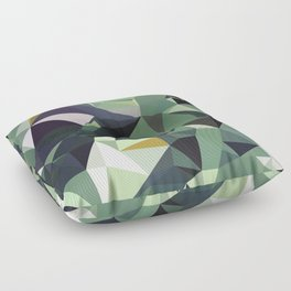 Martinique Low Poly Floor Pillow